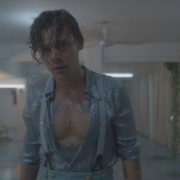 """Harry Styles Shines in Gucci for His New Music Video, """"Lights Up"""""""
